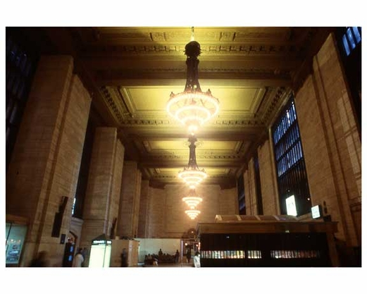 Lighting Inside Grand Central Station 1988