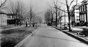 Linden Boulevard looking east from Albany Avenue, 1924