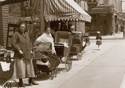 Livonia Av. East to Powell Srt. Brownsville Brooklyn 1917
