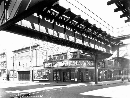 Livonia Avenue and Chester Street, 1927