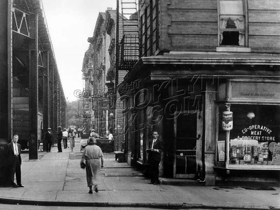 Livonia Avenue east from Thatford Avenue, 1933
