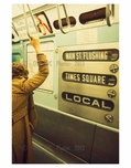 Local train from Flushing to Times Square 1960's