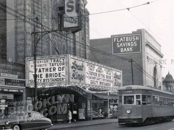 Loew's Kings Theater, Flatbush and Tilden Avenues, 1950