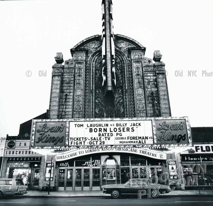 Loew's Kings Theater, Flatbush and Tilden Avenues, 1973. Photo by Paul Kopelow