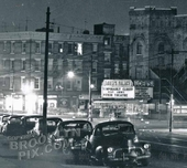 Loew's Palace, East New York Avenue and Douglass & Saratoga Avenue, Brownsville, c.1950