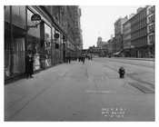 Looking at 14th Street & 6th Ave - Train Station - Greenwich Village - Manhattan, NY 1916
