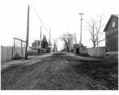 Looking south down McNeil Blvd Nassau-Queens Border 1912