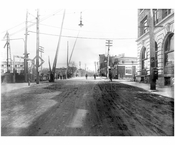 looking south down Mott Ave 1912
