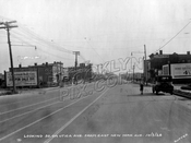 Looking south on Utica Avenue from East New York Avenue, 1928