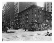 Looking up 7th Avenue & 25th Street November 4th 1915 Chelsea, Manhattan