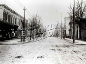 Looking west on Liberty Avenue from Junius Street, 1906