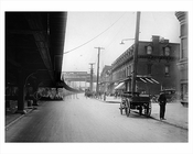 Looking west on north roadway of Atlantic Avenue from Georgia Ave 1923