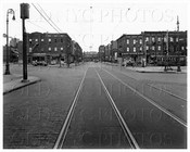 Lorimer St north at Union Ave 1944