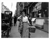 Lower East Side Bread Delivery 1920