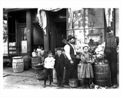 Lower East Side Grocery Store 1907