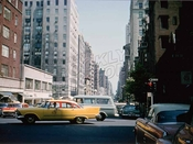 Madison Avenue, north from East 71st Street, August 1958