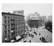 Madison Square from the Flatiron Bldg. 1905