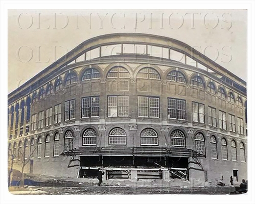 Main Entrance Brooklyn Dodgers Ebbets Field March 1913