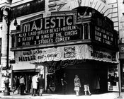 Majestic Theater at 651 Fulton Street, 1940s.