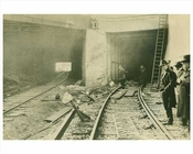 Malbone St. Train Wreck 1918  (2) Flatbush - Brooklyn NY