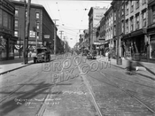 Manhattan Avenue looking north to Bedford Avenue, 1928