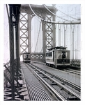 Manhattan Bridge 1917 Trolley