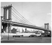 Manhattan Bridge 1955