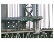 Manhattan Bridge close up 2
