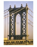 Manhattan Bridge close up