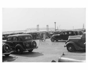 Marine Parkway Bridge -seen from the parking lot of Jacob Riis Park- 1938 Queens, NY