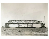 Marine Parkway Bridge - under construction - 1937 Queens, NY