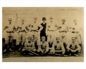 Matchless Baseball team East New York 1885