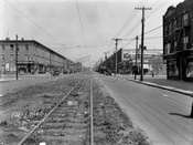 McDonald Avenue looking north to Avenue C, 1929