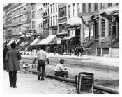 Men on the street 149th Street & Morris Avenue South Bronx, NY 1901