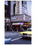 """Meteor"" with Sean Connery - Theater District NYC 1970s"
