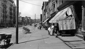Metropolitan Avenue northwest toward Lorimer Street, 1916