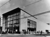 Modern architecture comes to Flatbush: Macy's Flatbush at Flatbush and Tilden Avenues, 1948
