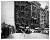 Mott Street Looking North at Pell Street 1937