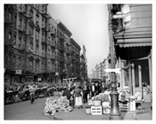 Mott Street north from Hester 1939
