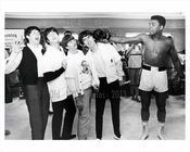 Muhammad Ali knocks out The Beatles early 1960s NYC