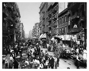 Mulberry Street Looking toward Canal 1904
