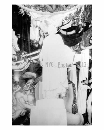 Mural at the Worlds Fair 1939 - Flushing - Queens - NYC