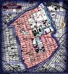 Neighborhood borders map for East WIlliamsburg / English Kills