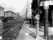 New Utrecht Avenue looking north from 49th Street, 1914