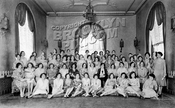 New York Telephone Company employees at Hotel Granada, 1930