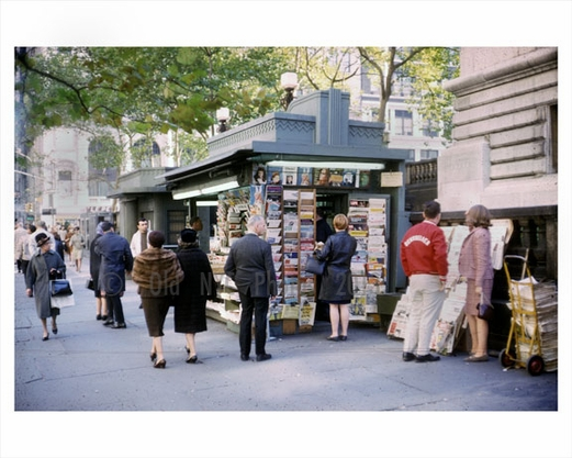 Newsstand East 42nd Street