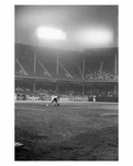 Night Game at Ebbets Field - Brooklyn NY 1957