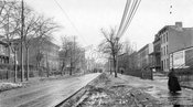Ninth Street looking southeast to Fourth Avenue (Gowanus), 1918