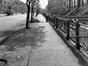 Ninth Street looking southeast toward Prospect Park West, 1928