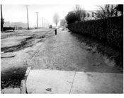 North sidewalk of Ave T, looking west from Van Sicklen Street-  1922